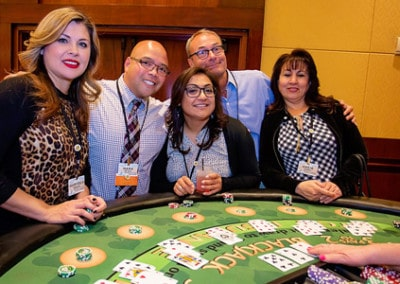 At the Blackjack Table