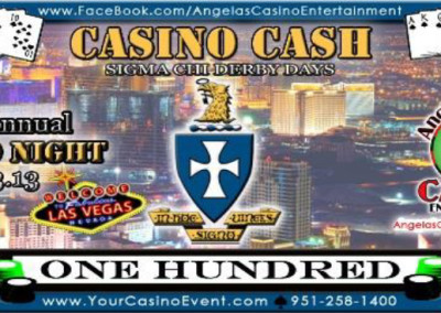 Casino Cash - Fundraisers