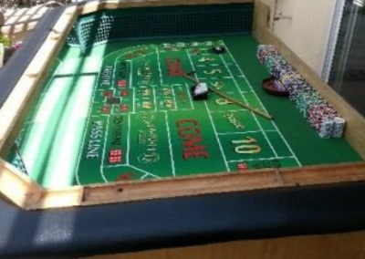 Craps Table (small) - 8' x 4'  (10-12 players)