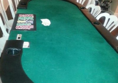 Poker Table - 8' x 4' (10 players)